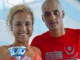Cristina y Marco vencedores de la copa de salvamento