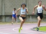 Luz Mª Domínguez se impuso en los 200 y 800 (Foto: Nacho Rego)