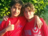 Los medallistas del Salvour Manuel Limia y Pablo Serrano