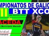 Pablo Rodríguez, un ciclista de luxo nos Campionatos de Galicia de BTT XCO en Maceda