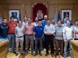"""Manuel Baltar agradece ao COB que situase a Ourense """"na elite do baloncesto europeo"""" (Foto: Deputación Ourense)"""