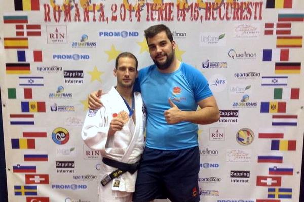 Los luchadores de Marbel Felipe Iglesias y Cristian Alvarez