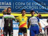 C.C. Maceda: Iván Feijoo, Carlos Canal e Noela Saa na Copa de España de Llodio