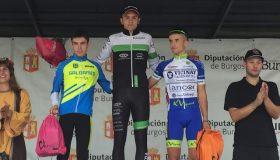 C.C. Maceda: Gran actuacion do equipo no ciclocross de Villarcayo con victoria de Iván Feijoo en juniors