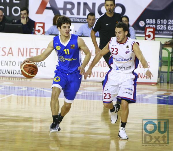 Club Ourense Baloncesto cae en Logroño ante un acertado Calzados Robusta