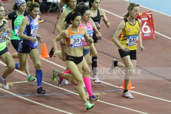 Buenos resultados en el Campeonato de España de Veteranos de atletismo en Pista Cubierta