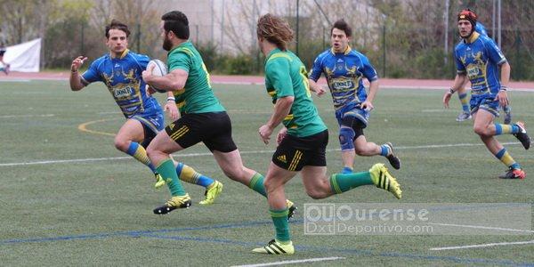 Campus Ourense cae ante Uribealdea en la División de Honor B de rugby