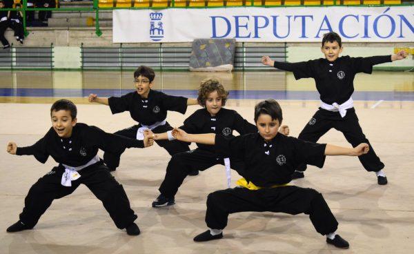Disputada la 1º Fase de la Copa Deputación de Wushu Infantil