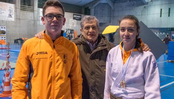 Tres judokas del Marbel, en el Torneo LaSalle de Santiago