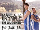 """Campaña """"Márcate un triple en Ourense"""""""