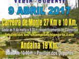 O vindeiro 9 de abril volta a Andaina-Carreira Pozo do Demo (Verín) 2017