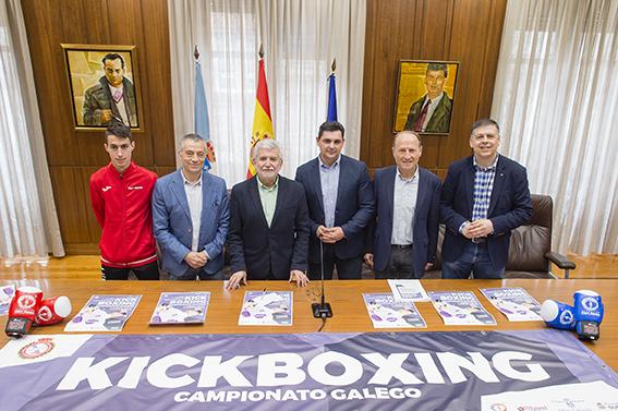 "Campionato Galego de Kickboxing 2017 no Pazo ""Paco Paz"""