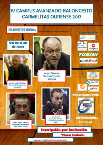 """IV Campus Avanzado Baloncesto """"Carmelitas Ourense"""""""
