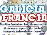 Futbol Gaélico: Francia vs Galicia este sábado no Campus Universitario