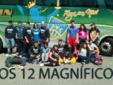 Los 12 magníficos del sub16 de Campus Ourense Rugby se enfrentaron al CRAT