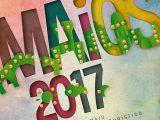 Cartel dos Maios de Ourense 2017, festa de interese turístico de Galicia