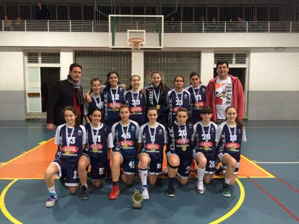 El cadete femenino del Bosco campeón de liga zonal