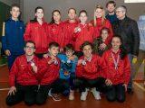 Seis medallas para Marbel en la fase Sur del Campeonato Gallego Infantil y Cadete