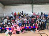 U.D. Ourense achégase ó CEIP Mestre Vide
