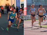 Cuatro medallas en ruta y un record en pista para el atletismo veterano ourensano