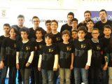 Martín Gómez Carreño,  14 anos e 5º absoluto no autonómico de xadrez