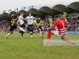 Pablo Nogueiras, Xinzo, anota un gol para la historia (Foto: Nacho Rego)