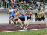 Monterrei escenario del Campeonato Gallego Veterano de atletismo