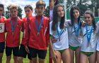 Purísima y Ourense Atletismo bronce cadete el Gallego de Relevos