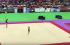 Ximnasia Burgas Campeón de España de equipos en Cadete en Gimnasia Acrobática