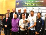 A Deputación de Ourense acolle a presentación da final da XXIII Copa de campións de fútbol xuvenil