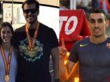 Tres medallas ourensáns no Nacional Universitario de atletismo