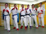 Cuatro luchadores de Marbel en el Torneo de Jiu Jitsu de Móstoles