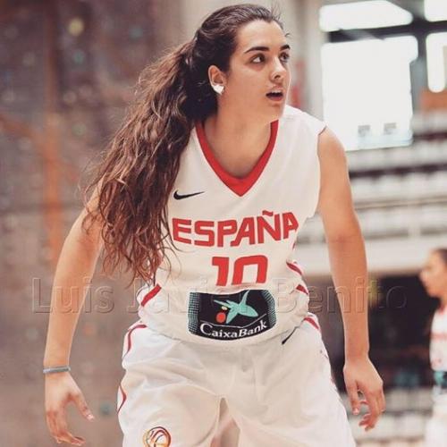 Paula Ginzo en la Sub20 de España para el Europeo