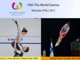 Daniel Pérez del Burgas en los Juegos Mundiales de Wroclaw
