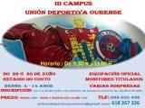 Todo listo para o III Campus da U.D.Ourense