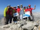 O  Club Alpino Ourensán cruza os Picos de Europa polos cumios mais elevados