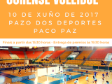 Copa Deputación de Voleibol este sábado no Paco Paz