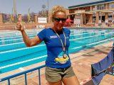 Cristina Colomo suma 4 medallas en el Europeo master de Socorrismo