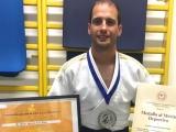 El Judo gallego premia al jiujitsuka del Marbel Felipe Iglesias