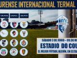 Las promesas del futbol en la III Ourense Intenacional Termal CUP