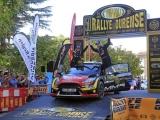 Cristian García y Rebeca Liso triunfadores en las bodas del oro del Rallye de Ourense