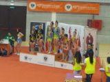 Segundo puesto para Burgas en el Open Internacional de Granada de acrobática