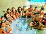 Campeonato gallego alevín de natación en la Rosario Dueñas de Os Remedios