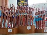 O conxunto cadete de Ximnasia Pavillón Campión Galego de rítmica