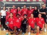 Las infantiles ourensanas campeonas de Torneo de Selecciones de balonmano