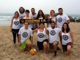 Boas prestacións dos equipos do Auriense F.G. no Torneo de Fútbol Gaélico praia de A Lanzada