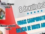 Os Remedios sede del Campeonato de Galicia de Boxeo