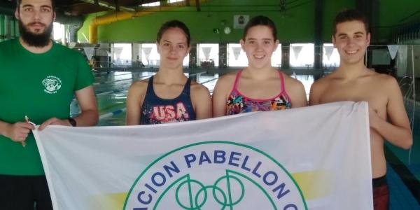 Cita para el Pabellón en el Nacional infantil de natación