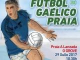 Auriense F G no Torneo de Fútbol Gaélico praia de A Lanzada