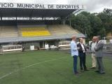 Iniciada a renovación dos campos de fútbol de Oira e Os Remedios